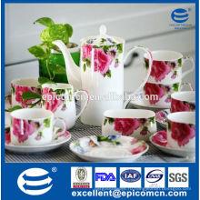 Новый костяной фарфор для чая и кофе оптом