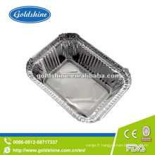 Conteneurs à emporter de papier d'aluminium de prix concurrentiel