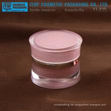 YJ-X15s 15 g elegant und edel 1. Klasse Acryl Kunststoff 15 g Doppelwand Glas