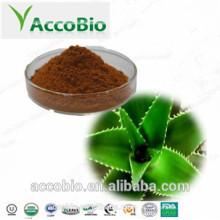 Polvo de Extracto de Aloe Vera de Grado Cosmético 10% 20% de Aloína para Blanquear la Piel