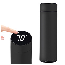 Temperature Display Vacuum Flasks Travel Car Stainless Steel Smart Thermos Water Bottle