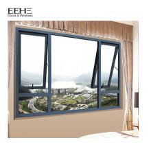 China Factory cheap Aluminium Bathroom Awning Window Designs