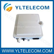 12 boîte de core FTTH extérieure fibre optique Terminal avec serrure
