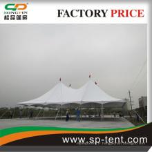 Extérieur Carré en aluminium Tente d'exposition en PVC pour salon équitable ou automobile