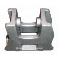 ISO9001 CNC-Bearbeitung von Eisenbahnstahl-Feingussguss