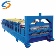 Color Steel Double-Layer Roof Sheet Roll Forming Machine