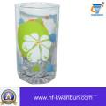 High Quanlity bom copo de vidro definido decalque água copo Kb-hn08167