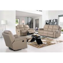 Sofá elétrico reclinável EUA L & P sofá do mecanismo para baixo do sofá (716 #)