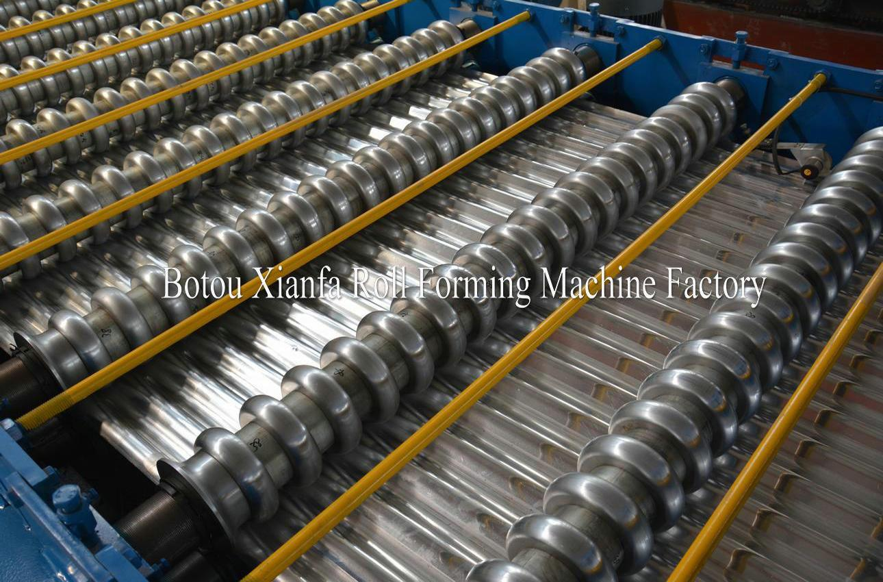 wave roof roll forming machine