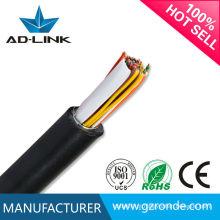Melhor preço cabo de telefone multicore / cabo de par trançado 2 fios de Ronde