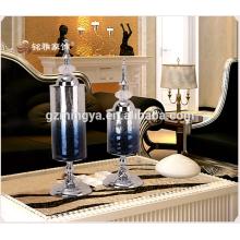 Europäisch-luxuriöses neoklassizistisches Modell der postmodernen TV-Schrankglas-Ornamente weiche Heimtextilien