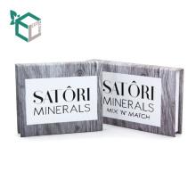 Hohe Qualität Private Marke Umwelt Papier Bord Spiegel befestigt Papier Frauen Lidschatten Verpackung Box