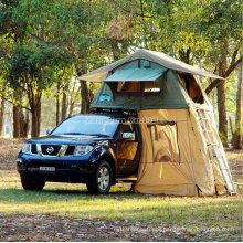 Folding Large Roof Tent, Canvas Roof Top Tent
