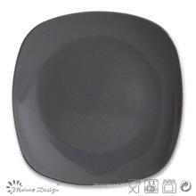 Assiette à table en forme de carré de 10 pouces