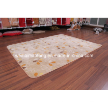 Lujo Raschel visón Picnic poliester alfombra (NMQ-CPT010)