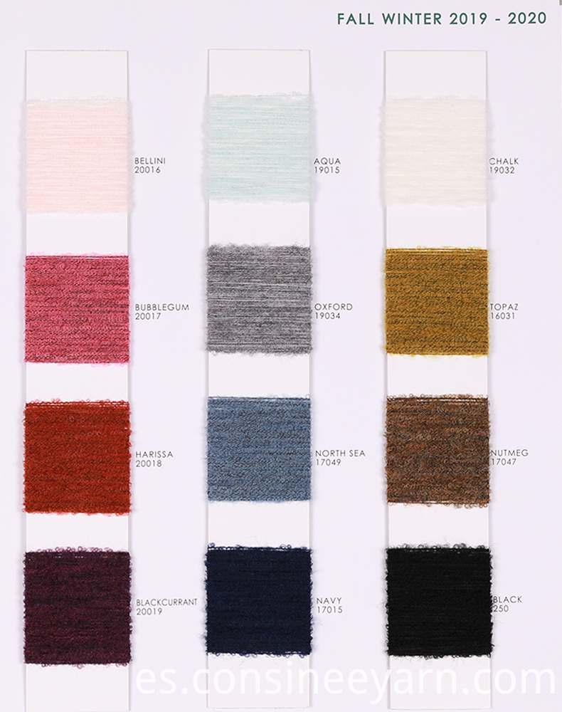 Buy Wool Boucle Yarn 1