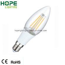 Ampoule à filament LED blanc chaud 220lm 2W E14