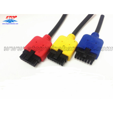 Conector masculino de 14Pin do passo 3.0pitch