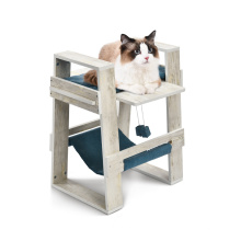 P2 Board+sisal Simple And Light Hanging Toys Wood Pet Design Cat Tree Modern