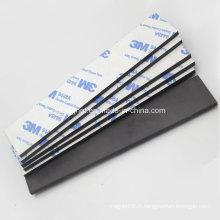 Imprimante de caoutchouc souple avec adhésif de 3 mm