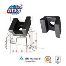 Track Rail Clamp with Tie Plate
