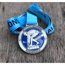 Anpassad 2020 Zink Alloy Swimming Sport Medal