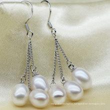 Fashion Cultured Drop Pearl Earrings