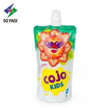 Kids drinking juice spout pouch