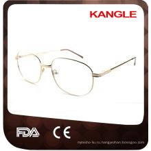 Классический дешевый экономической базовой линии человека металлические оправы металл очки