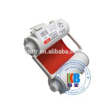 Ruban encreur compatible SL-r102T SL-R103T couleur rouge blanche pour imprimante Max bepop CPM-100HG3C PM-100 CPM-100HC