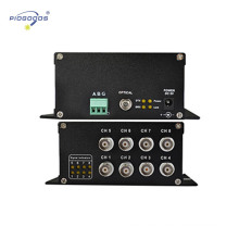 1/4/8 Kanäle digitaler Glasfaser-CCTV-Videokonverter
