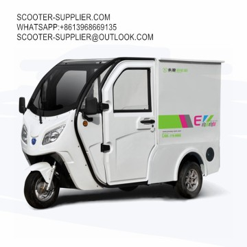 Electric Car City Logistics Vehicle