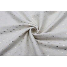 Tecido extravagante para cortina de linho para impressão