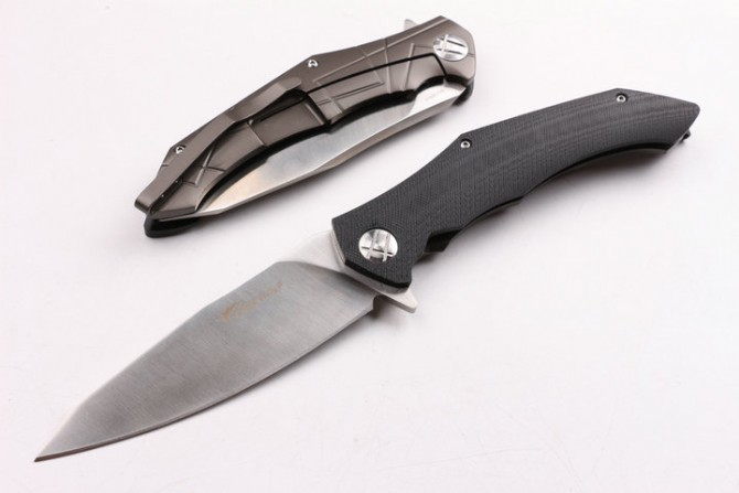 Swiss Army Carbon Steel Pocket Knife Hunting