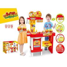 Super Fast Food Shop Kitchen Toys-Remote Control Play Set