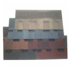 Construção de materiais de construção de fibra de vidro asfalto telhas