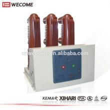 interruptor de wecome ZN63A VS1-12 interior disyuntor del vacío interior VCB