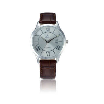 New Casual Men Leather Belt Wrist Watches