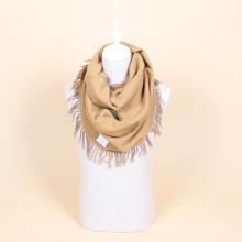 100% wool crochet infinity scarf