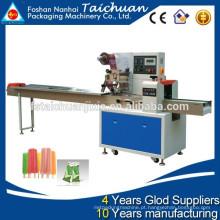 TCZB-250B Automatic Popsicle Horizontal Flow Wrapping Machine preço quente venda em Estados Unidos