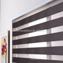 customize size two layers window zebra blinds