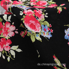 Crinkle Floral Woven Printed