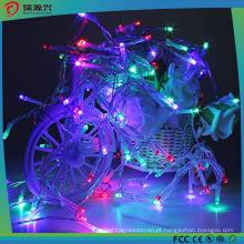 LED férias ao ar livre colorido Natal decoração fada luz da corda
