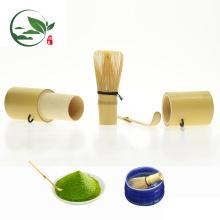 Reisen Mini Whisk Utensil Bambuskanister Tee-Set