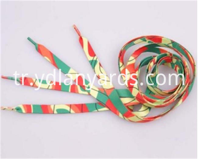 Dye Sublimation Logo Shoelace