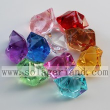 16*23MM Acrylic Crystal Ice Rocks for Vase Fillers or Table Scatters