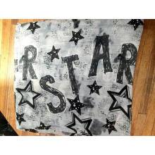 Star Style Polyester Yarn Infinity Scarf