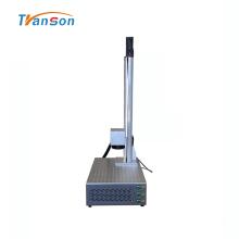 Marcador do laser da fibra 50W mini com Z elétrico