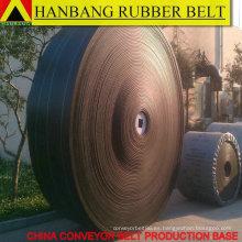 fabricante de caucho transportador cinturón China fábrica