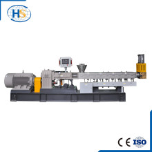 Ce y ISO9001 Haisi plástico que hace la salida del tornillo gemelo
